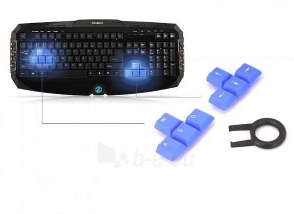 Zalman Multimedia Keyboard ZM-K300M Paveikslėlis 8 iš 9 250255701212