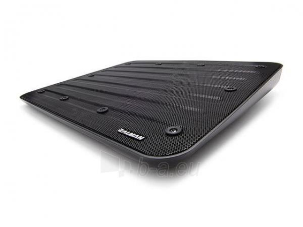 Zalman Notebook Stand ZM-NC3 black (up to 17) Paveikslėlis 2 iš 8 250256401281