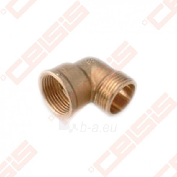 Žalvarinė 90° alkūnė METALGRUP 92 Dn3/4 Paveikslėlis 1 iš 1 270201600038