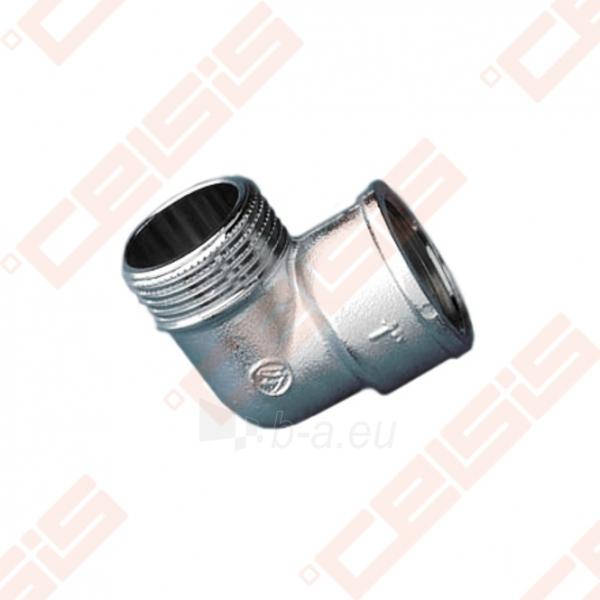Žalvarinė chromuota (matinė) 90° alkūnė METALGRUP 92 Dn3/4 Paveikslėlis 1 iš 1 270201500049