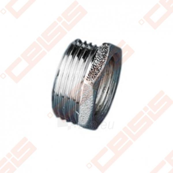 Žalvarinė chromuota (matinė) jungtis METALGRUP 241 Dn1/2 x 1 Paveikslėlis 1 iš 1 270205600036