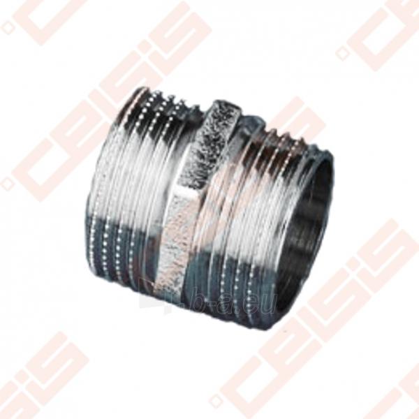 Žalvarinė chromuota (matinė) redukuota jungtis METALGRUP 245 Dn1/2 x 3/8 Paveikslėlis 1 iš 1 270205600044