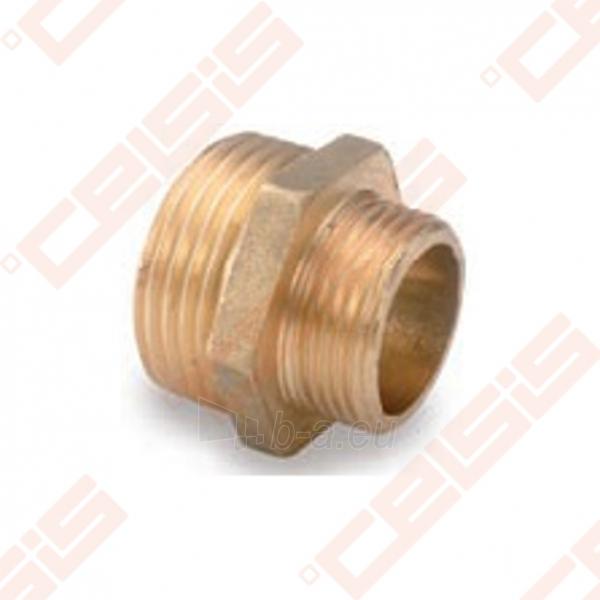 Žalvarinė redukuota jungtis METALGRUP 245 Dn1 x 1/2 Paveikslėlis 1 iš 1 270205600079