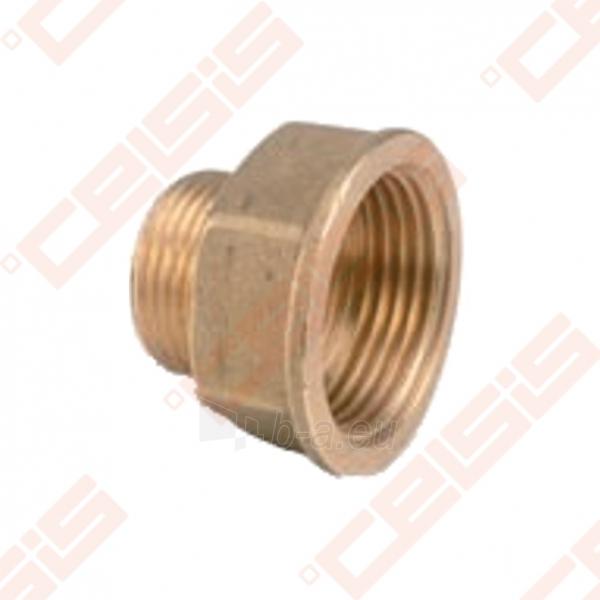 Žalvarinė redukuota jungtis METALGRUP 246 Dn1 x 1/2 Paveikslėlis 1 iš 1 270205600085