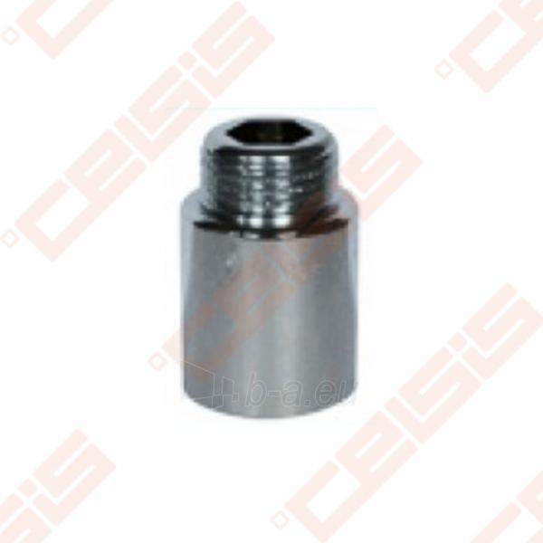 Žalvarinis chromuotas (matinis) prailginimas METALGRUP 529 Dn1/2x40mm Paveikslėlis 1 iš 1 270203600066