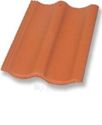 ZANDA LUX, Concrete roof tile, (Clay Red) Paveikslėlis 1 iš 1 237170000181