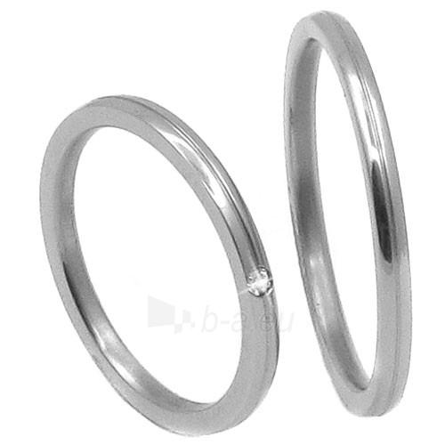 Zero Collection Vestuvinis Žiedas TTN3902 (Dydis: 55 mm) Paveikslėlis 1 iš 2 30100900323