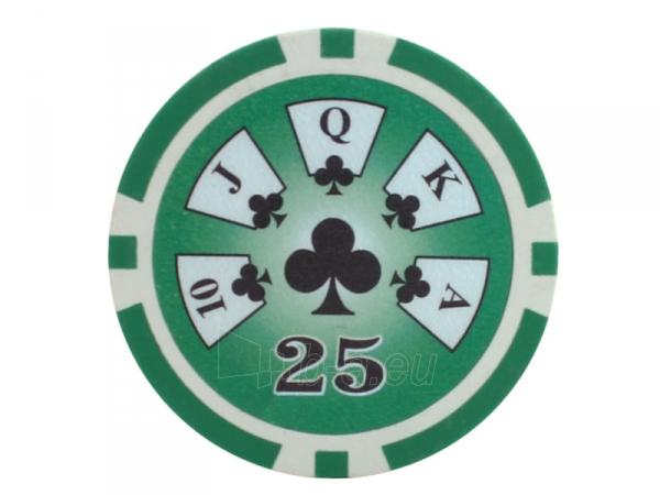 25 vnt. Royal Flush 13,5 g. 25 Paveikslėlis 2 iš 2 251010000156