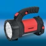 Žibintuvėlis LED, 15+12 LED, pakraunamas, 220/12V, su rankena, gumuotas, 3 režimai,Tiross TIS-1105 Paveikslėlis 1 iš 1 224140000186