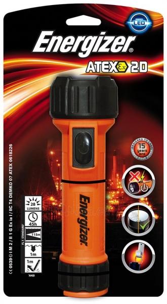 Žibintuvėlis Torch, ENERGIZER Mine Atex Led 2D, orange Paveikslėlis 1 iš 1 310820049392