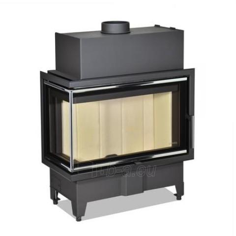 Židinio ugniakuras kampinis HL2SX23 70.44.33 dviejų dalių kairės pusės stiklu 44 cm ir atv. durimis Paveikslėlis 1 iš 2 310820254489