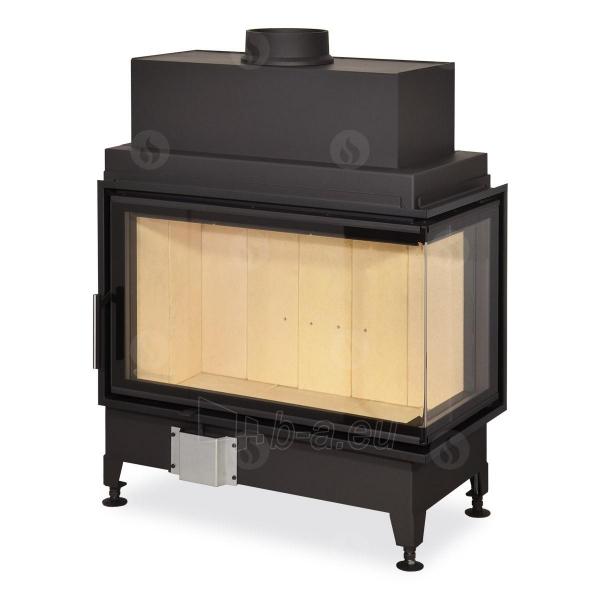 Židinio ugniakuras kampinis HR2SF21 81.51.40 dviejų dalių deš. pusės stiklu 51 cm ir atv. dur. Paveikslėlis 1 iš 2 310820165813