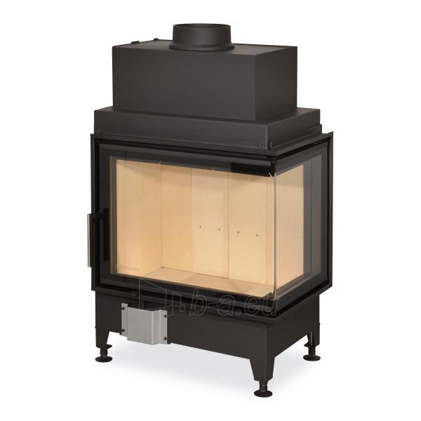 Židinio ugniakuras kampinis HR2SG21 65.51.40 dviejų dalių dešinės pusės stiklu 51cm ir atv. Durimis Paveikslėlis 1 iš 3 310820254475
