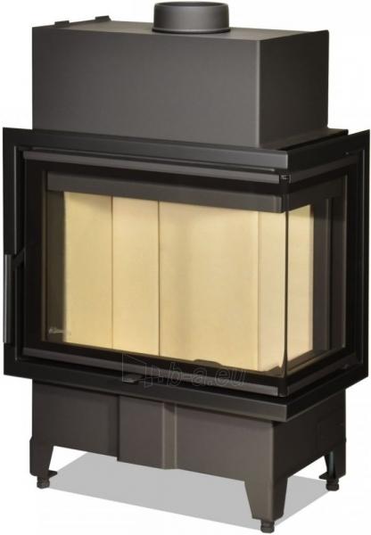 Židinio ugniakuras kampinis HR2SY13 60.44.33.13 vientisu dešinės pusės stiklu 44 cm ir atv. durimis Paveikslėlis 1 iš 2 310820165814
