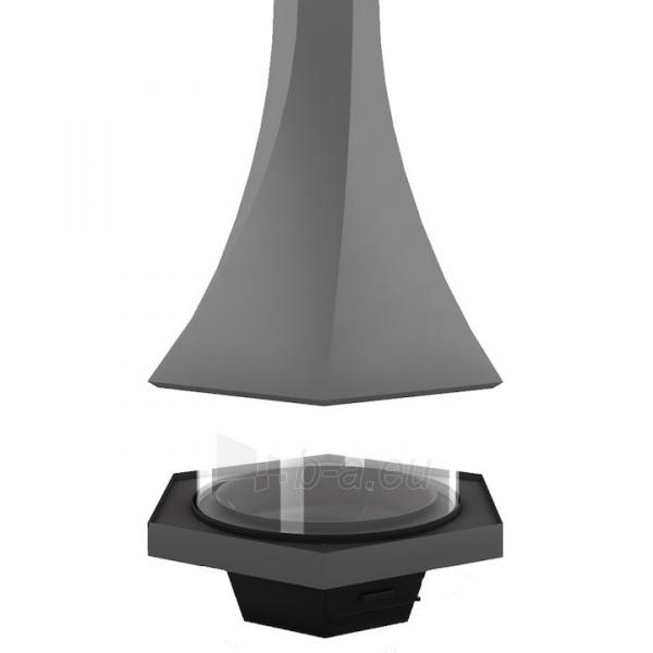 Židinys Bordelet Eolia 907, centrinis, su stiklu Paveikslėlis 3 iš 3 310820235981