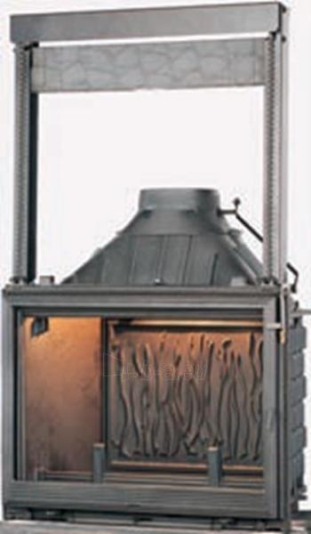 Židinys Seguin Europa 7, su dv. degimo funkcija ir pakeliamu stiklu Paveikslėlis 1 iš 2 310820235969