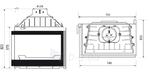 Židinys Seguin Europa 7 Evolution VL dešininis stiklas (F0401EVL) Paveikslėlis 2 iš 3 310820235974