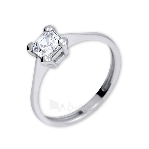 Žiedas Brilio Silver Silver engagement ring with crystal 426 001 00427 04 - 1.62 g Paveikslėlis 1 iš 4 310820127056