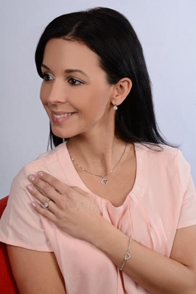 Žiedas Brilio Silver Silver engagement ring with crystals 426 001 00432 04 - blue - 2.30 g Paveikslėlis 2 iš 5 310820127059