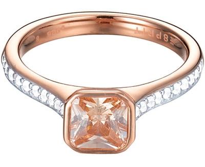 Žiedas Esprit  ES-Pico Rose ESRG92817C (Dydis: 58 mm) Paveikslėlis 1 iš 1 30070202899