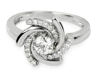 Žiedas Silver Cat SC040 (Dydis: 52 mm) Paveikslėlis 1 iš 1 310820042948
