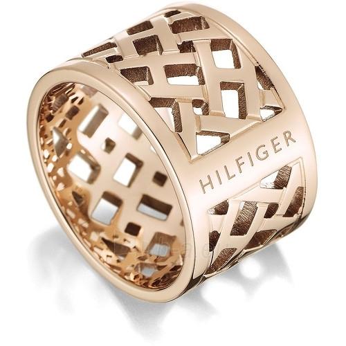 Žiedas Tommy Hilfiger Originální pozlacený prsten z oceli TH2700744 (Dydis: 54 mm) Paveikslėlis 1 iš 1 30070204130
