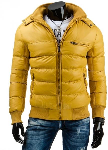 Žieminė vyriška striukė Randi (Geltona) Paveikslėlis 1 iš 6 310820036150