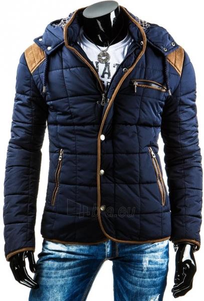 Žieminė vyriška striukė Warm (Tamsiai mėlyna) Paveikslėlis 1 iš 6 310820036142