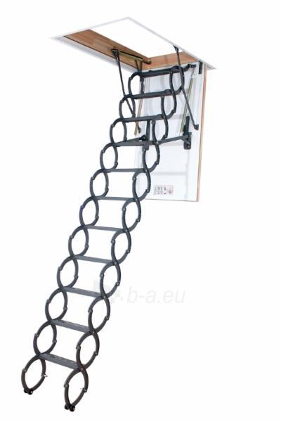 Scissors loft ladder FAKRO LSZ LST 51x80x250-280 Paveikslėlis 1 iš 3 2379600000114