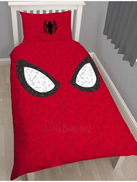 Žmogus voras dvipusės patalynės komplektas (Raudonas) Paveikslėlis 1 iš 3 30115700669