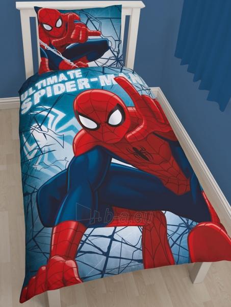 """Žmogus voras dvipusės patalynės komplektas """"Laipiojantis sienomis"""" Paveikslėlis 1 iš 5 30115700670"""