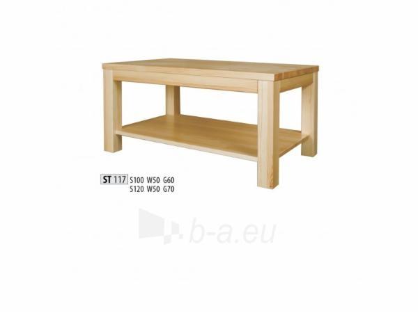 Žurnalinis staliukas ST117 (120 cm) Paveikslėlis 1 iš 2 250405490012