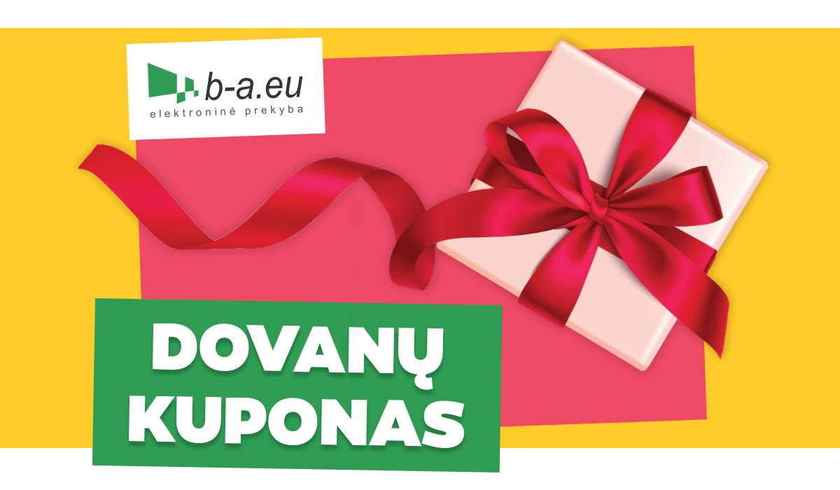 100 € dovanų kuponas b-a.eu