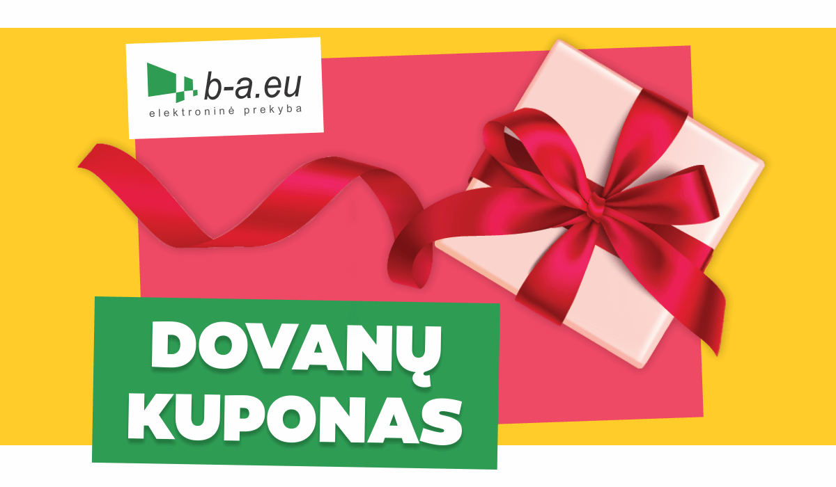 10 € dovanų kuponas b-a.eu